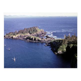 St. Lazaria, Aerial shot Postcard