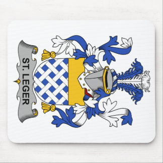 St. Leger Family Crest Mouse Pad