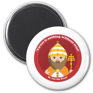 St. Leo el grande Imán De Frigorífico