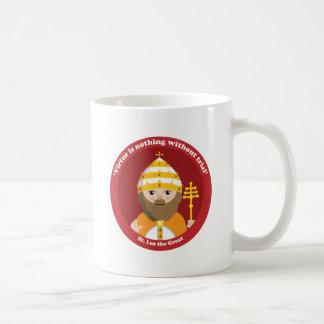 St. Leo el grande Taza De Café