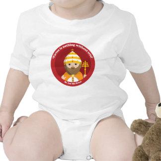 St. Leo el grande Traje De Bebé