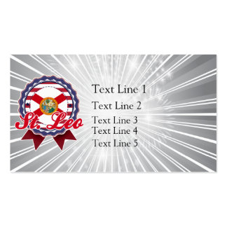 St. Leo, FL Double-Sided Standard Business Cards (Pack Of 100)
