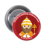 St. Leo the Great 2 Inch Round Button