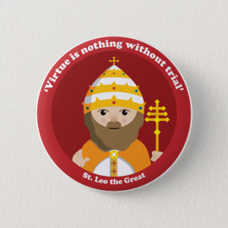 St. Leo the Great Pinback Button