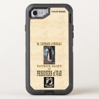 St. LEONARD of NOBLAC (Patron Saint of Pow's) OtterBox Defender iPhone 7 Case