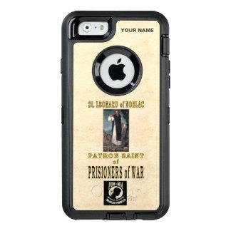 St. LEONARD of NOBLAC (Patron Saint of Pow's) OtterBox Defender iPhone Case