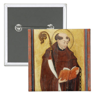 St. Leonard (oil on gold ground panel) (pair of 12 Button