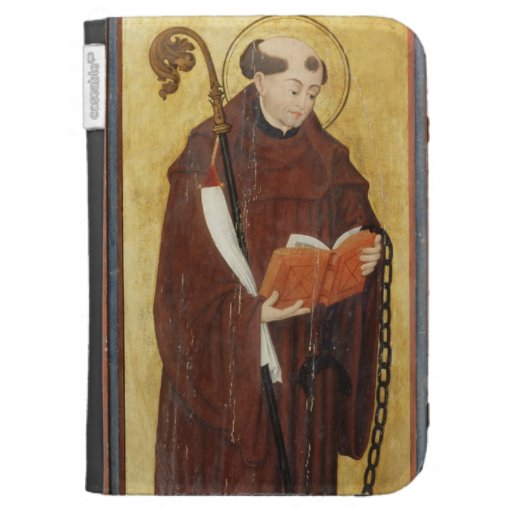 St. Leonard (oil on gold ground panel) (pair of 12 Case For Kindle
