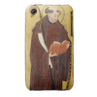St. Leonard (oil on gold ground panel) (pair of 12 iPhone 3 Case-Mate Case