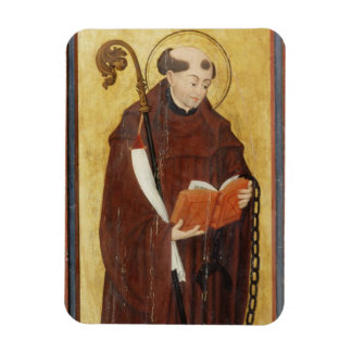 St. Leonard (oil on gold ground panel) (pair of 12 Magnet