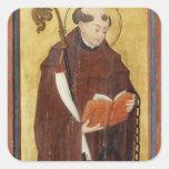 St. Leonard (oil on gold ground panel) (pair of 12 Square Sticker