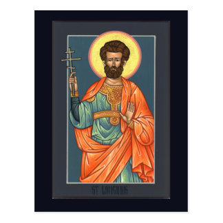 St. Longinus the Centurion Prayer Card