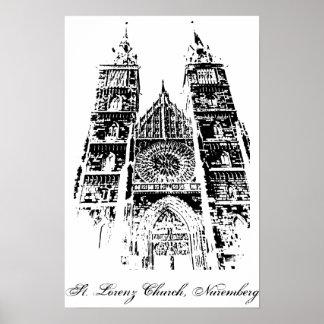 St. Lorenz Church, Nuremberg Poster