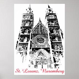 St. Lorenz, Nuremberg Poster