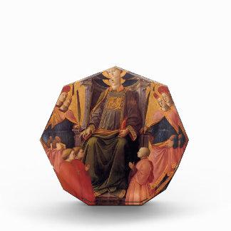St. Lorenzo de Filippo Lippi- Enthroned con los sa