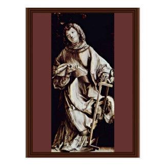 St. Lorenzo de Grünewald Mathis Gothart Postal