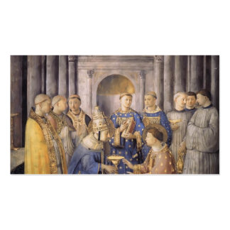 St. Lorenzo del Fra Angelico- San Pedro Consacrate Tarjetas De Visita
