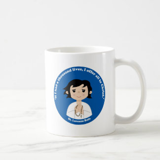St. Lorenzo Ruiz Classic White Coffee Mug