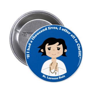 St. Lorenzo Ruiz Pinback Button