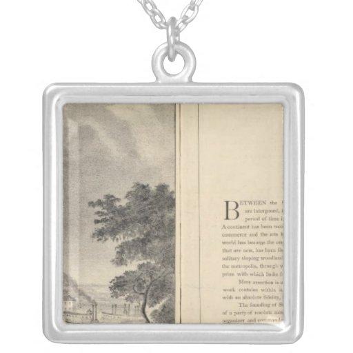 St. Louis, 1832 Collar Plateado