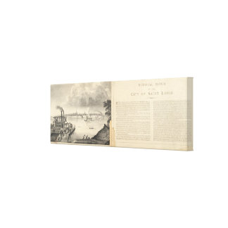 St Louis 1832 Impresiones De Lienzo