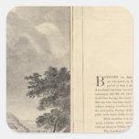 St. Louis, 1832 Pegatina Cuadrada