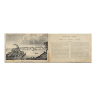 St. Louis, 1832 Poster