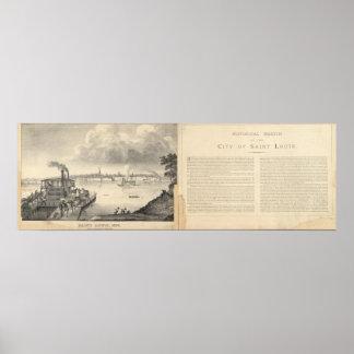 St. Louis, 1832 Print