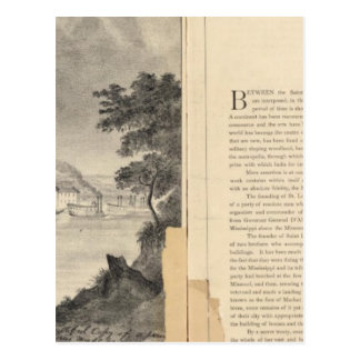 St. Louis, 1832 Tarjeta Postal