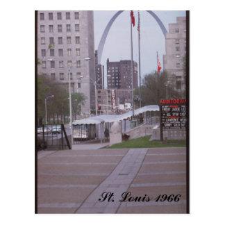 St. Louis 1966 Postcard