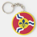 St. Louis Aero Force Roundel Keychains