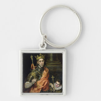 St. Louis  and his Page, c.1585-90 Keychain