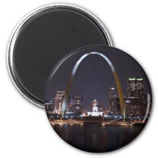 St. Louis Arch 1576 Fridge Magnets