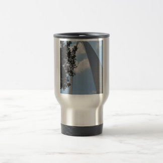 St. Louis Arch 15 Oz Stainless Steel Travel Mug