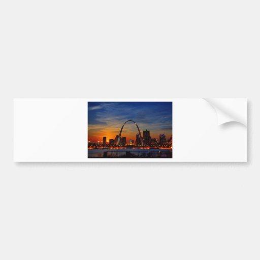 St. Louis Arch 1788 Bumper Stickers