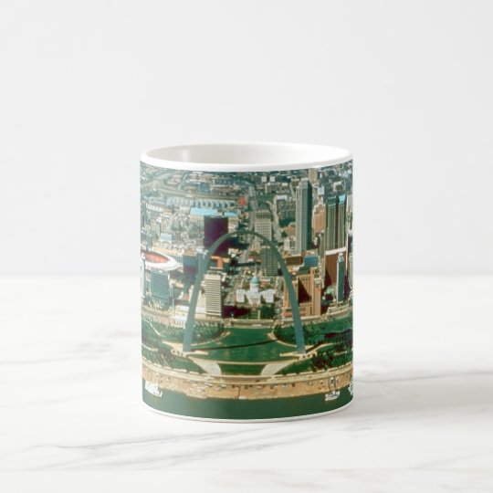 St. Louis Arch and Skyline Coffee Mug
