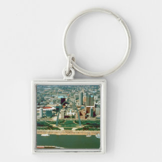 St. Louis Arch and Skyline Keychains