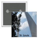 St. Louis Arch Button