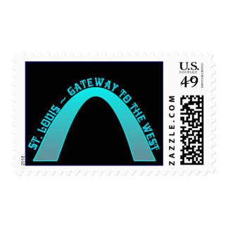St. Louis Arch Gateway To The West Postage Stamps