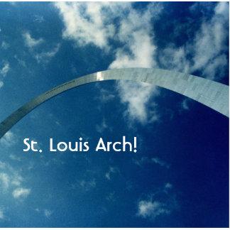 St Louis Arch Overhead clouds sun lrg1, St. Lou... Photo Cutouts