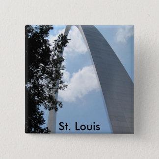 St. Louis Arch Pinback Button