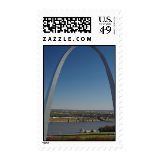 St Louis Arch Postage