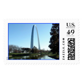 St. Louis Arch Postage