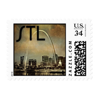 St. Louis Arch Postage Stamp