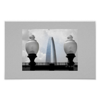 St. Louis Arch Poster