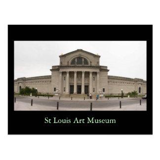 St Louis Art Museum Postcard