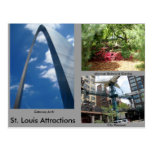 St. Louis Attractions Postcards