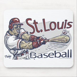 St. Louis Baseball Mousepad