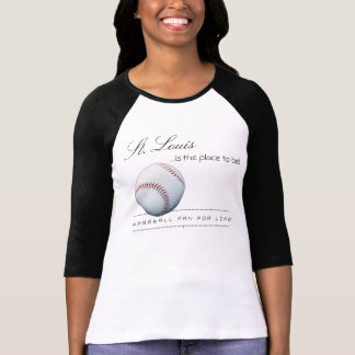 St. Louis Baseball Raglan 3/4 Sleeve Shirt