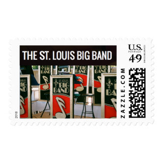 St Louis Big Band Postage Stamps
